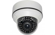 2.1MP, 1080p Vandal proof IR Dome Camera with Auto-Iris VF 2.8 to 12 mm Lens
