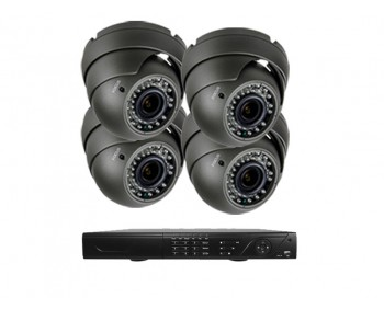 INCLUDE HD-TVI DVR WITH 1TB HARD DRIVE,POWER SUPPLY & 04 CABLES