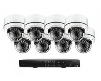 INCLUDE HD-TVI/SDI DVR WITH 3TB HARD DRIVE,POWER SUPPLY & 08 CABLES