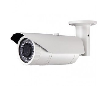 2.1MP, 1080p IR Bullet Camera Auto-Iris VF Lens2.8 to 12 mm & 72 IR LED